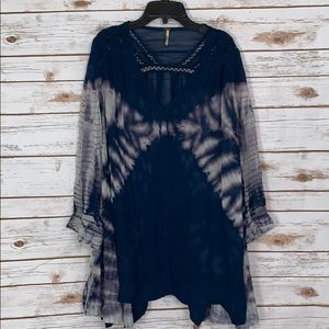 Free People Tunic Shirt Boho festival Size Medium